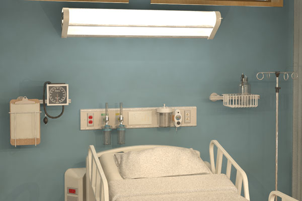 Patient Room Headwall Lighting Hsi Patient Service Console